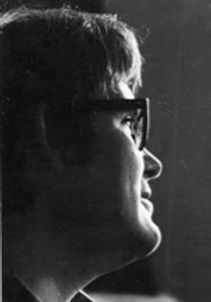 portrait of  Nigel Young in the 1960s