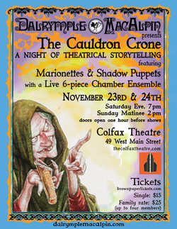 The Cauldron Crone - Colfax Theatre