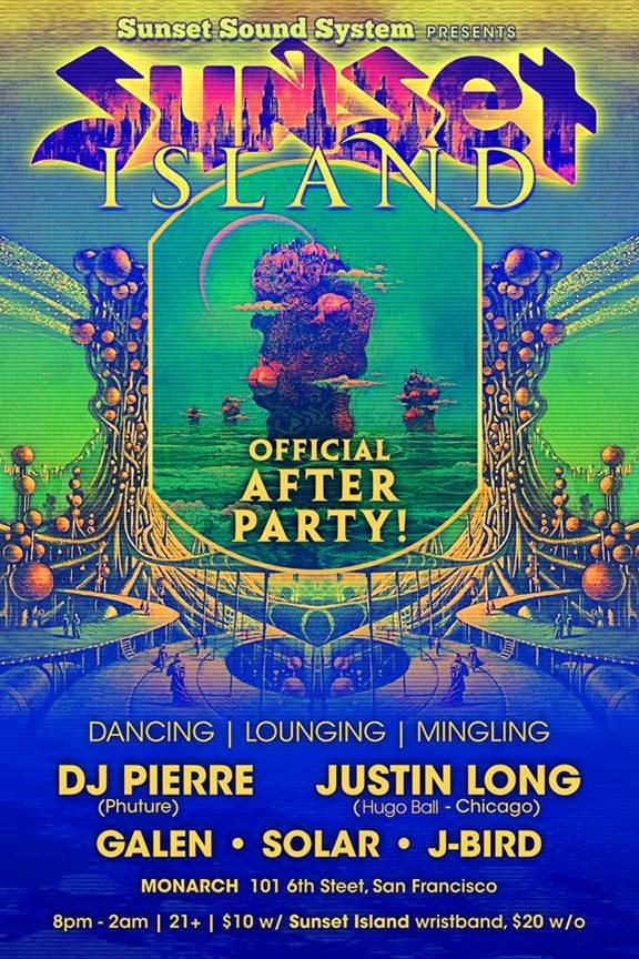 Sunset Island After Party 2014