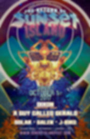Sunset Island Flyer 2017