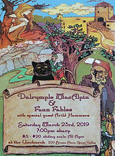 MacAlpin & Faun Fables flyer
