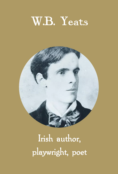 WB Yeats, Irish author, playwright, poet