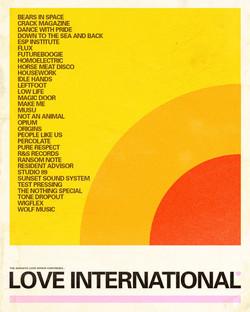 LOVE INTERNATIONAL 2019