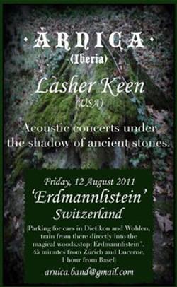 Lasher Keen - Erdmannlistein, Switzerland