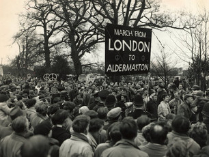 Aldermaston marches and the Cuban missile crisis. A letter to The Guardian newspaper