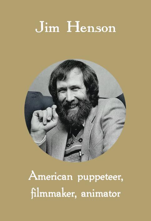 Jim Henson, American pupeteer