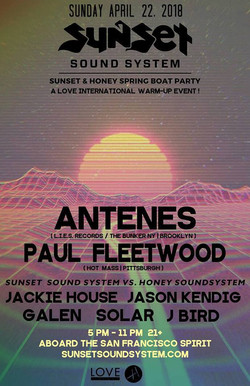 Sunset & Honey Spring Boat Party