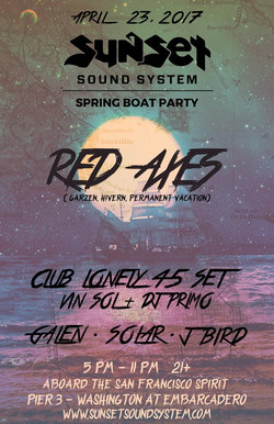 Sunset Spring Boat Party 4.23.2017