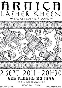 Lasher Keen - Les Fleurs Du Mal, Toulouse, France