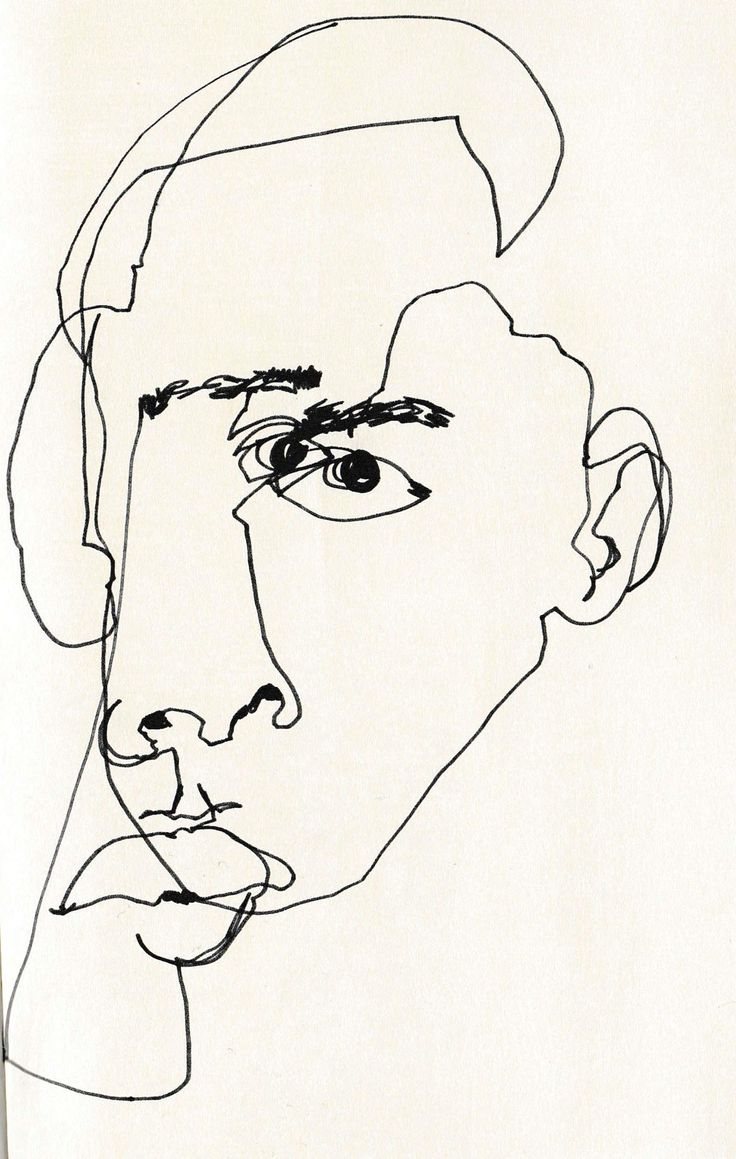 Drawing Portrait Using Blind Contour Lin Website