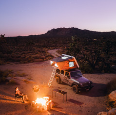 Camper rental in California
