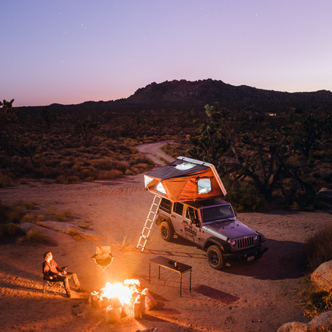 Camper rental in California
