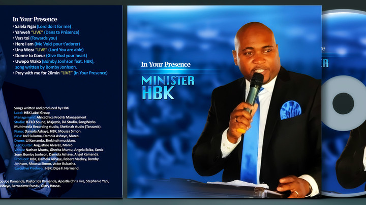 """MINISTER HBK NEW ALBUM                 """"IN YOUR PRESENCE"""""""