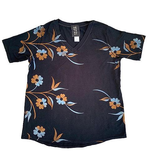 Short Sleeve Easy V Stem Blue