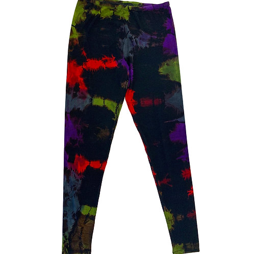 Rib Legging Fold Grape/Red