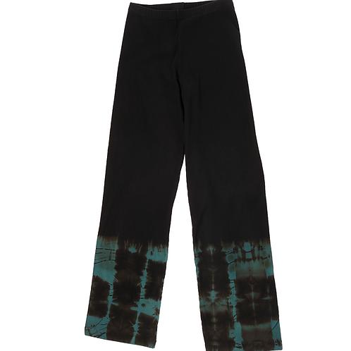 Sweat Stove Pant Fold Hem Aqua
