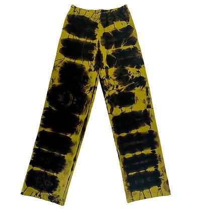 Fleece Stovepipe Pants Suji Citron