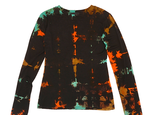 Fitted L/S Crew Fold