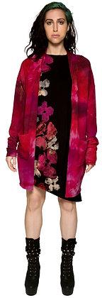 Vegan Cashmere Long Cardi Pink