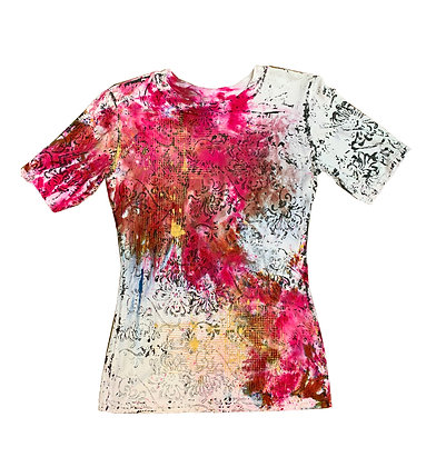 S/S Fitted Mum Print Tee