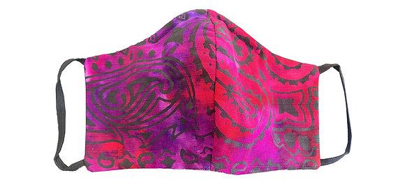 Bandana Mask Grape/Red