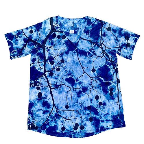 Short Sleeve Easy V Sycamore Blue