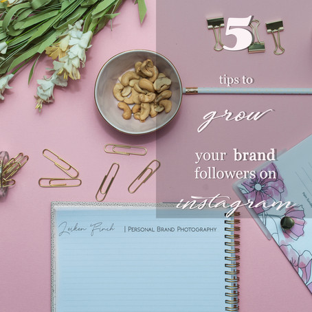 5 tips to Grow Your Brand On Instagram