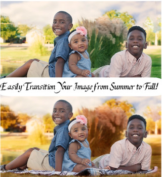 Transition your images from Summer to Fall in Photoshop