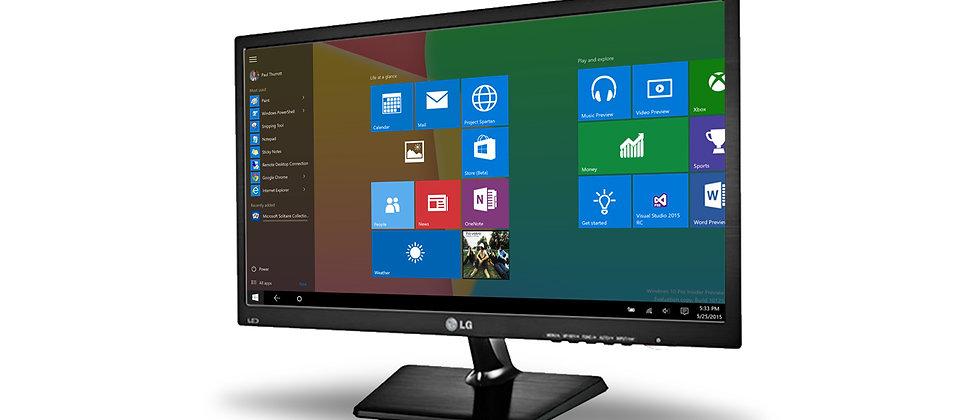 LG 22 Inch Monitor 22M37 LED