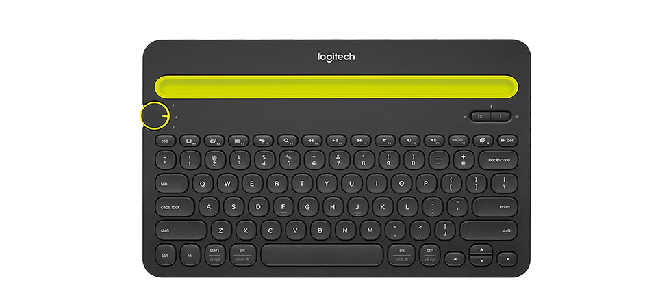 Logitech K480 Bluetooth Keyboard W/ Tablet/Phone Stand