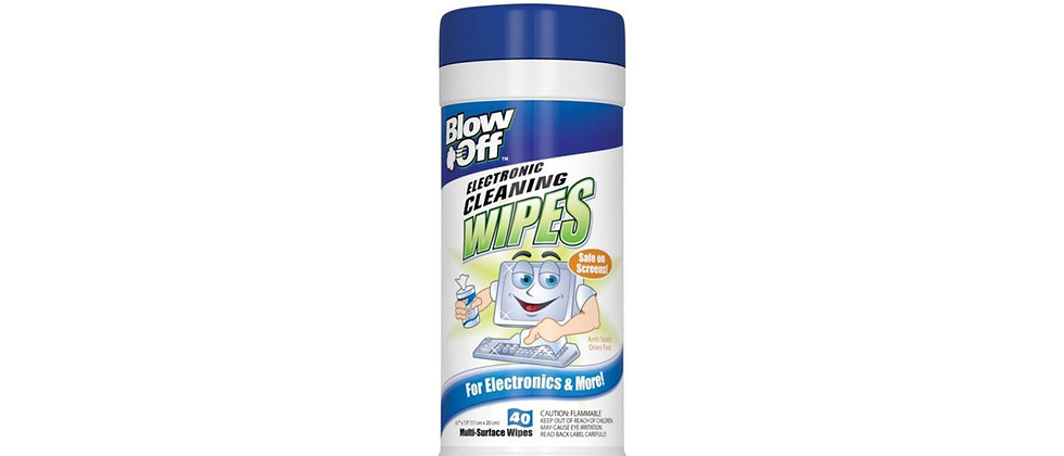 Blow Off Electronics Wipes