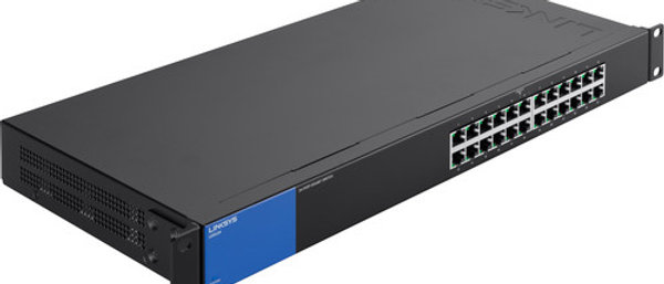 Linksys LGS124 24-Port Unmanaged Gigabit Ethernet Switch