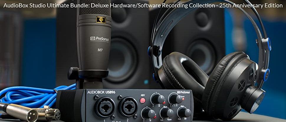 Audio Box  96 Studio 25thAnniversary Edition