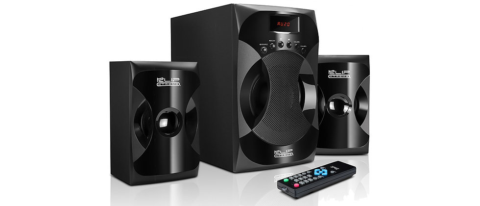 Klip Xtreme ZoundXpressions Stereo Speakers