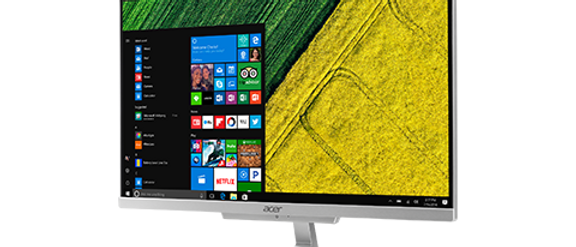 Aspire C22 All-In-One Desktop - C22-860-ES11