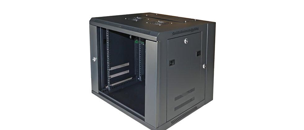 Netsys Wall Rackmount 20x21.5 Cabinet 9UR GlassDoor