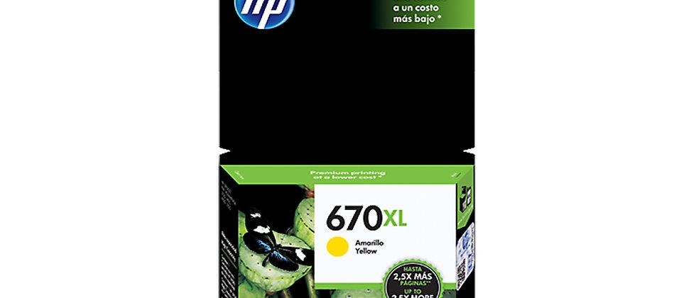 HP #670(CZ116A)