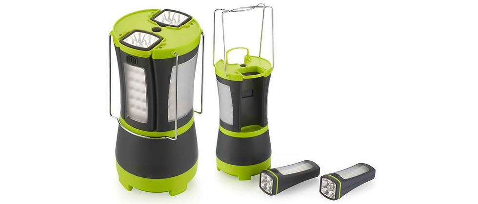 LED Lantern With Detachable Torches