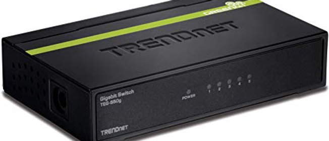 TRENDNET 5 port switch gigabit