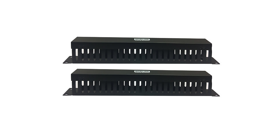 NewLink Dual 1U Fingered Cable Manager