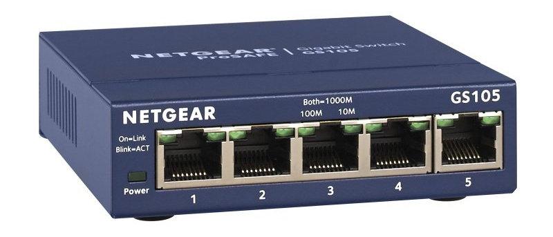 NETGEAR PROSAFE GS105 GIGABIT SWITCH
