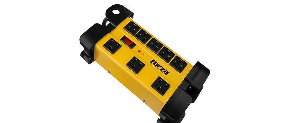 Forza Heavy Duty Surge Protector 8 Outlet