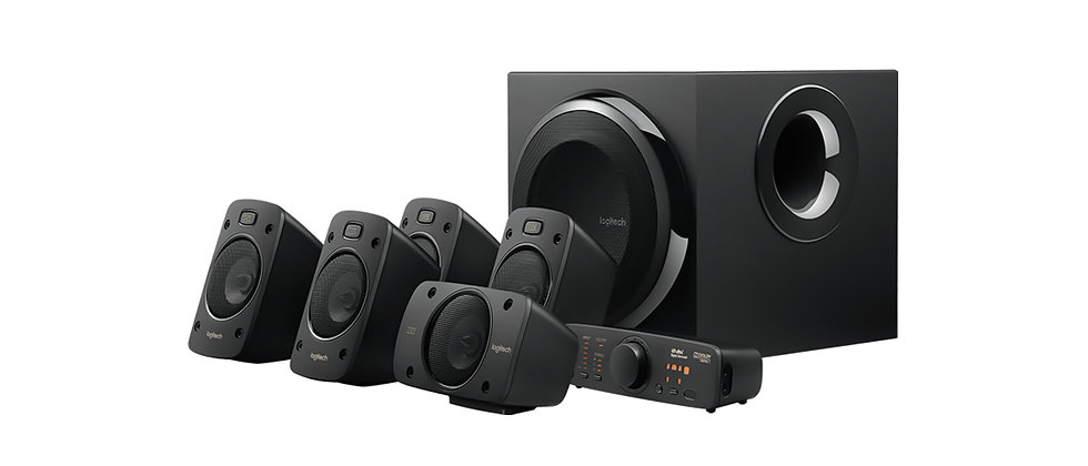 Logitech Speaker System Z906 5.1 Channel
