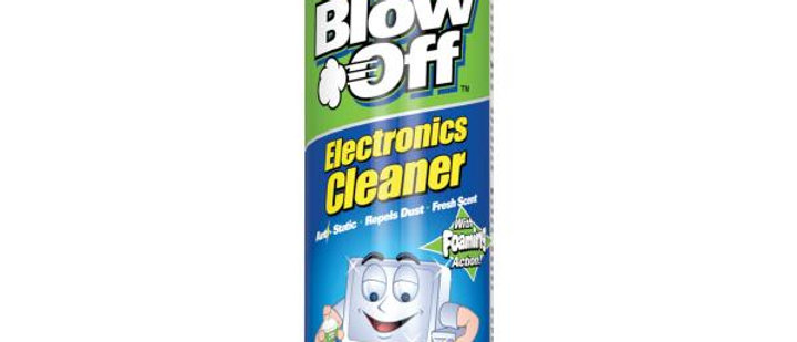 Blow Off Electronics Cleaner