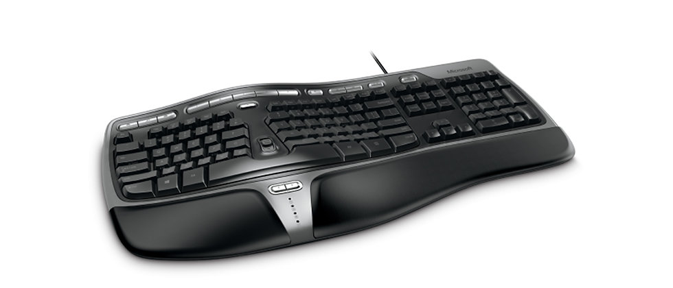 Microsoft Natural Ergonomic Keyboard