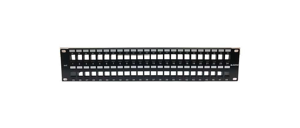 LanPro IMC Unloaded Interchangeable Unshielded Patch Panel