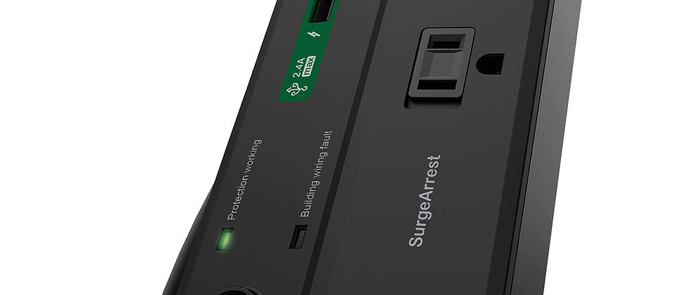 APC Home Office SurgeArrest 8 Outlets with 2 USB charging ports
