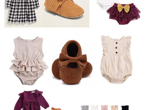 Baby Girl Thanksgiving Outfits