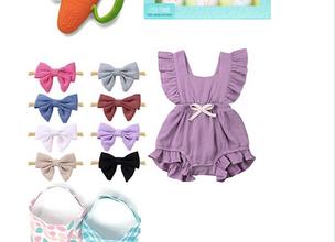 Easter Basket Guide for Baby Girls 2019