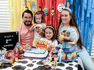Riley's Second Birthday - Toy Story